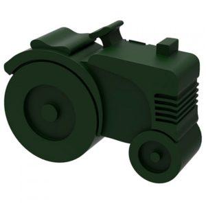 Lunchbox Tractor Donkergroen 7588