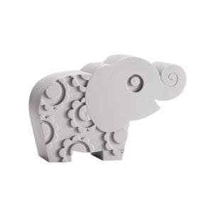 Blafre lunchbox olifant grijs
