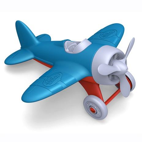 Green Toys Vliegtuig Blauw