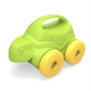 Schildpad op wieltjes Green Toys auto baby speelgoed
