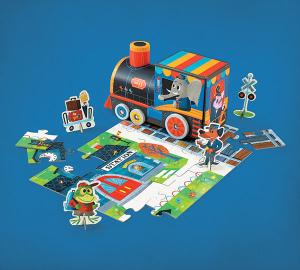 Trein Spelen & Puzzel