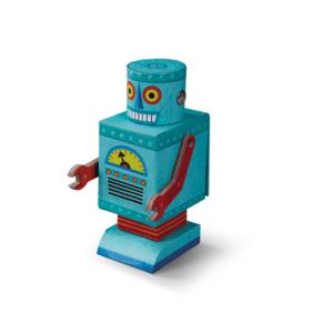 Creetures Robot Puzzel