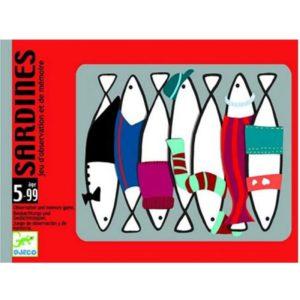 Kaartspel Sardines DJ05161 Djeco Kinderspel