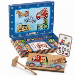 Hamertje Tik Voertuigen Djeco Speelgoed frans Wijs west wijswest speelgoed online shoppen