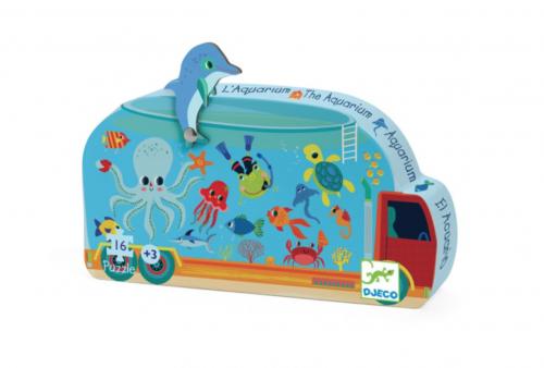 Puzzel Aquarium Djeco