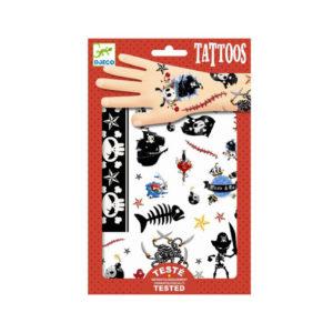 Djeco Tattoo Piraten