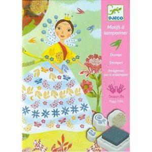 Djeco Stempelsset Meisjes en Bloemen