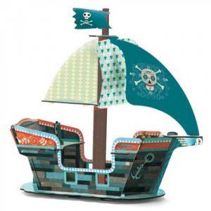 Djeco Bouwpakket Piratenschip