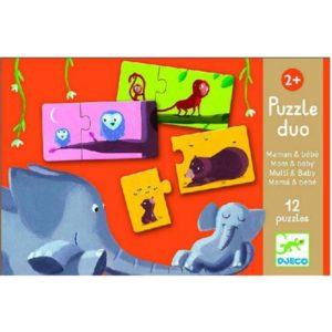 Djeco Puzzel Duo Moeder en Kind