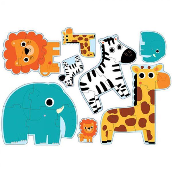 Djeco Puzzel Jungle Dieren