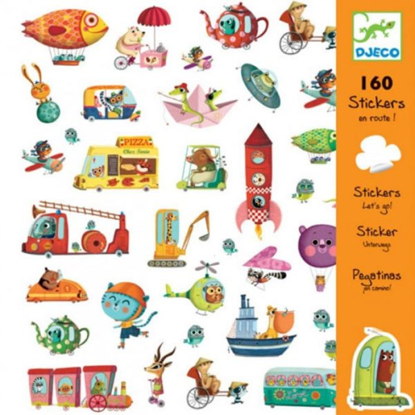Djeco Stickers En Route