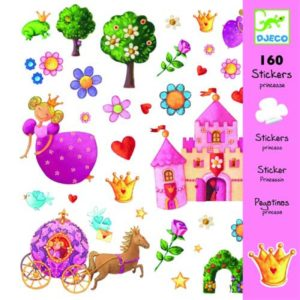 Djeco Stickers Prinses