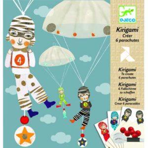 Djeco Kirigami Parachutes