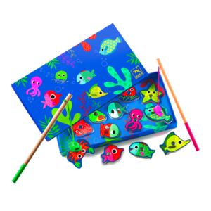 Visspel gekleurde zeedieren