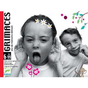 Kaartspel Grimaces Djeco