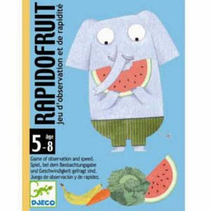 Kaartspel Rapido Fruit DJ05137 Djeco Kinderspel