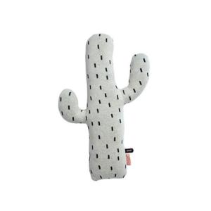 Kussen cactus wit