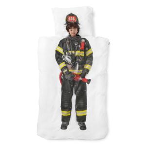 Brandweerman Dekbedovertrek