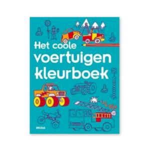 Coole voertuigen kleurboek