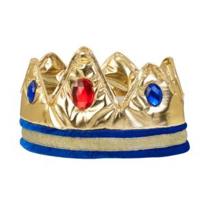 Koningskroon Louis Goud Souza verkleden