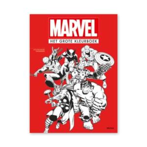 Marvel grote kleurboek