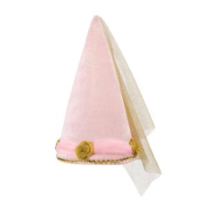 Princessen hoed roze goud