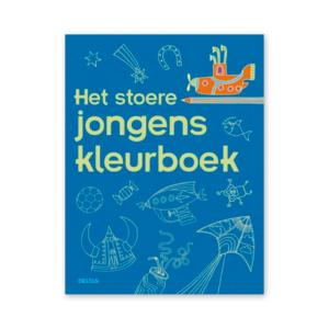 Stoere jongens kleurboek