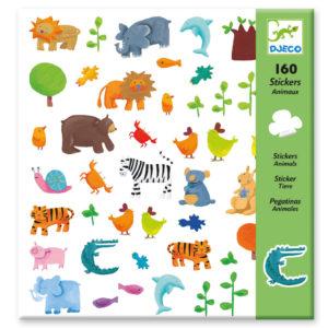djeco wijs west wijswest online shoppen winkel amsterdam speelgoed Djeco DJ08841 Knutselen 3070900088412 Stickers Dieren