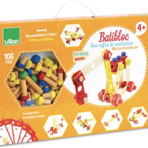 Constructie Set 2139 bouwen houten speelgoed Frans merk Vilac kinderen cadeau