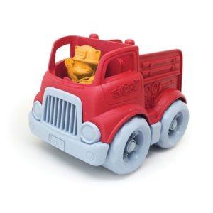 Kleine Brandweerwagen Green Toys auto baby speelgoed