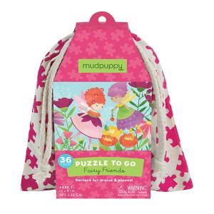 Puzzel To Go Fairy Friends Mudpuppy 354947