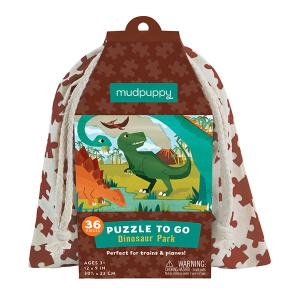 Puzzel To Go Dino Mudpuppy 354995