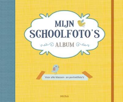 Mijn Schoolfoto's Album Geel Deltas Kraamcadeau