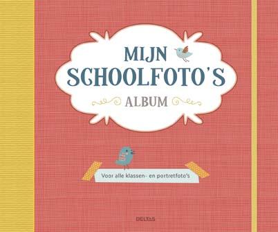 Mijn Schoolfoto's Album Rood Deltas kraamcadeau