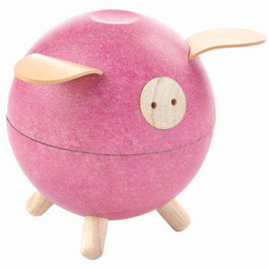 Spaarpot Roze 8612 Piggy Bank Plan Toys