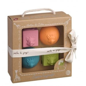 Sophie de Giraf So'Pure set ballen & blokken