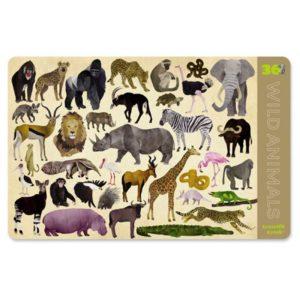 Placemat Wilde Dieren Wild Animals Crocodile Creek 382843-4