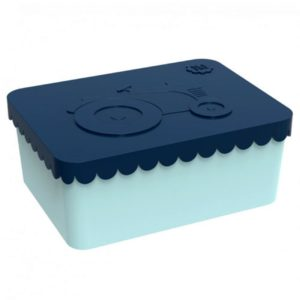 Lunchbox Tractor Donkerblauw Blafre 7580