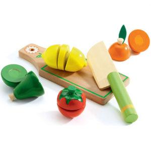 djeco wijs west wijswest online shoppen winkel amsterdam speelgoed Djeco DJ06526 Houten Speelgoed 3070900065260 Houten Fruit & Groenten