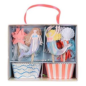 Let's be Mermaids Cupcake kit Meri Meri bakken 45-2734