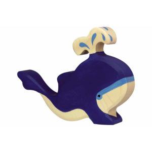Blauwe Walvis Holztiger 8680195