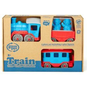 Trein Blauw Green Toys GTTRNB1054