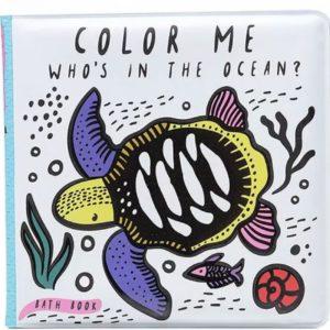 Wee Gallery Badboekje Colour me Ocean