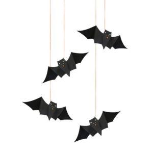 Vleermuizen Halloween 452937 Hanging bats Meri Meri