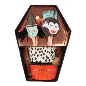 Cupcake Kit Halloween 452944 Halloween cupcake kit Meri Meri