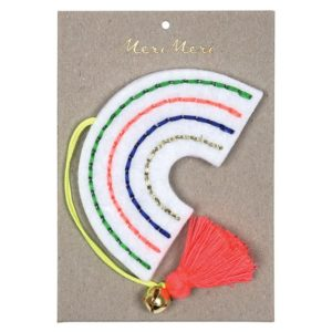 Kerstboom Deco Regenboog 600050 Felt rainbow decoration Meri Meri