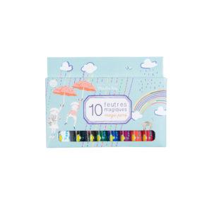 Box met 10 Toverviltstiften 713131 Moulin Roty