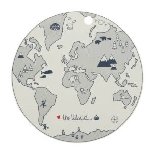 1100920 Placemat The World Oyoy