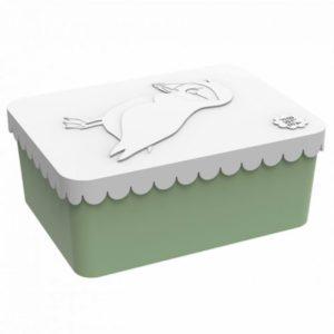 Lunchbox Vogel Mint Blafre