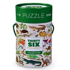 Puzzel Ocean Reptielen 100 stukjes